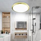 ZEROUNO 18/24/30 / 32W Σύγχρονο LED Φωτιστικό οροφής Αδιάβροχο Μπάνιο Στρογγυλή Λάμπα Τουαλέτα Τουαλέτα Σπίτι Εσωτερικό Φωτεινό