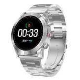 DT NO.1 S10 Full Touch Armbånd PPG + HRV Hjertefrekvens Blodtryk Monitor Stor Batteri Opkalder ID Display Sport Smart Watch