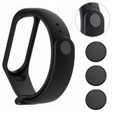 Bakeey 3PCS/ Set Alloy Metal Watch Band Buckle Button Replacement for Xiaomi Mi Band 6 / Mi Band 6 NFC Non-Original