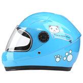 Nuoman Motorcycle Riding Electric Bike Helmet Bambini Outdoor Safety Motorcycle Bambini Bambini Cute Bear Helmet