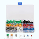 600Pcs Isolated Cord End Terminal Bootlace Cooper Ferrules Kit Set Wire Copper Crimp Connector