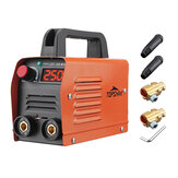 Topshak ZX7-250 250A 110V Mini Electric Welding Machine Portable Current Digital Display IGBT Welder Weld Tool