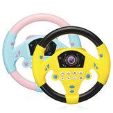 Juguete de rueda esterring simulado para niños, volante multifuncional de plástico, educación temprana para niños, juguete de desarrollo de IQ