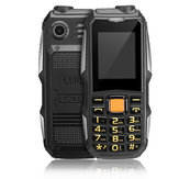 HAIYU H1 2.0 بوصة 4800mAh Flashlight FM MP3 القوة Bank Dual SIM Long تعليق Mini Feature هاتف