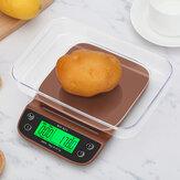 WH-B25L waga do kawy 3kg / 0,1g waga do kawy z timerem przenośna elektroniczna cyfrowa waga kuchenna precyzyjna waga LCD