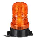 12V-24V 30 LED 5730 Rotante lampeggiante ambra lampeggiante faro flessibile spia di avvertimento per camion per barche ATV veicolo macchina agricola