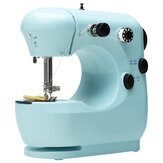 Mini Portable Electric Desktop Sewing Machine 2 Speeds For DIY Stitch Clothes Fabric