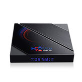 H96 Max H616 4GB RAM 64GB ROM 5G Wifi bluetooth 4.0 Android 10.0 4K 6k UHD 3D stéréoscopique VP9 H.265 TV Box Support Google Assistant 4K Youtube HD Netflix
