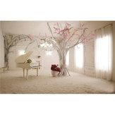 5x3 pés 1.5x1m interior árvore de piano fotografia cenário cenário foto para estúdio