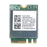Placa adaptadora sem fio Realter RTL8821CE NGFF M.2 Placa Wifi 433Mbps Dual Banda 5G 802.11 AC bluetooth 4.2 Placa de rede interna