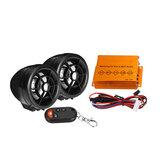 12V 15W 2.5 Pollici Altoparlante Moto impermeabile Antifurto Audio bluetooth FM SD USB Lettore MP3