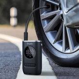 Enusic ™ 4000mAh 150PSI OLED Ekran Kablosuz Hava Pompa Dijital Lastik Basıncı Algılama LED Lastik Şişirme TP03 Araba Bisiklet Motosiklet Top Oyuncak