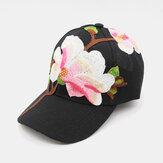 Casquette de baseball Embroidary Fashion Sun Hat Cunscreen Cap pour les femmes