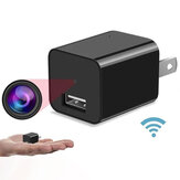 1080P Camera Charger Wireless Mini USB Charger Camera Moving Detection 1A Fast Charge Security Camera Portable Camera Power Adapter Video Recorder