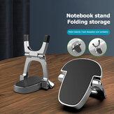 Bakeey 1 para przenośny dwuwarstwowy składany ze stopu aluminium Macbook telefon komórkowy Tablet uchwyt na biurko stojak Riser