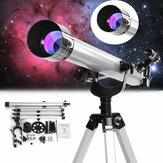 TelescópioZoomRefractiveAstronômicodeAmpliação 675x para Observação Celestial Espacial