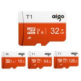 Aigo High Speed 16GB 32GGB 64GB 128GB Classe 10 SD / TF Memory Card Flash Drive com adaptador de cartão para iPhone 12 Smartphone Tablet Switch Alto-falante Drone Car DVR Câmera GPS