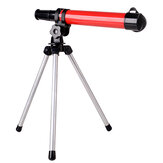 8X Kids Astronomical Telescope Design Monocular Educational Toy with Tripods