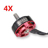 4 X Emax RS2205S 2600KV Racing Edition borstelloze motor voor RC Drone FPV Racing