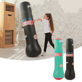 1.6m Inflate Standing Boxing Punch Bag Children Home Sport Fitness Training Exercise Tools