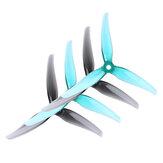 6 Pairs iFlight Nazgul R5 5 İnç 5mm 3-blade CW CCW RC Yarış için Pervaneler FPV Drone
