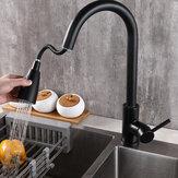 Bakeey Touch Switch Rubinetti Rubinetto per acqua sensore da cucina a tre vie miscelatore lavello per bagno cucina
