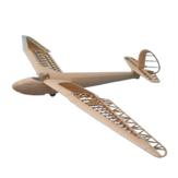 Tony Ray's AeroModel Minimoa 1422 mm Envergadura 1/12 Escala Madera de balsa Láser KIT de planeador de avión cortado a control remoto