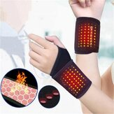 Self-Heating Wrist Brace Sports Protection Magnetic Therapy Tourmaline Arthritis Pain Relief Braces Belt for Health Care Tools