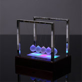 STEM Nightlight 15cm Aggiornamento Newton's Cradle Steel Balance Ball Physics Pendulum Toys