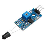LM393 3 Pin IR Flame Detection Sensor Module Fire Detector Infrared Receiver Module