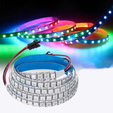 DC5V 1M 144LED WS2812B 5050SMD Luz de tira incorporada de IC IP20 RGB LED para el interior KTV Hotel Bar Home