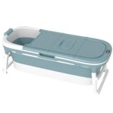 Tubo de banho de banheira de 1,5 m Adulto Criança Dobrável Indicador de temperatura Banheira de imersão Bacia de banheira de imersão para bebês Sauna