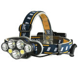 XANES 2606-7 Headlamp 18650 Electric Scooter Motorcycle E-bike Bike Bicycle Cycling Camping
