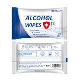 10PCS Portable Alcohol Sterilization Wipes Alcohol Pads Swabs Wet Wipes Skin for Home Cleaning Care