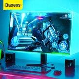 Baseus 5M 12V LED الألعاب ضوء RGB 5050 مرن LED قطاع ضوء لتقوم بها بنفسك ضوءing لـ الكمبيوتر كمبيوتر ميد تاور