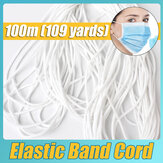 3mm Elastic Band DIY Mouth Face Cover Ear Hanging Thread Cord Rubber String