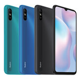 Xiaomi Redmi 9A Global Version 6,53 pouces 2 Go RAM 32GB ROM 5000mAh MTK Helio G25 Octa core 4G Smartphone