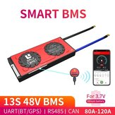 DALY BMS13S 48V 80A 100A 120A 18650 Bluetooth 485 to USB Device NTC UART Software Togther Lion LiFepo4 Battery BMS