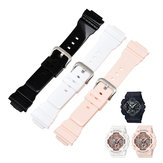 Bakeey Men Women Universal 16mm PU Watch Band for CASIO G-shock Series