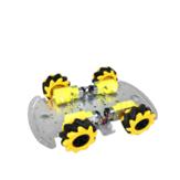 SNC380 Podstawa podwozia samochodu robota RC ze stopu aluminium z kołem Mecanum