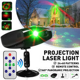 84 Padrões Colorful LED RGB Laser Projetor de luz Disco DJ Stage Party KTV Lâmpada de Natal AC85-260V