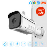 MoesHouse K7 Tuya Smart Outdoor IP65 Waterproof WiFi Two-Way Audio Camera HD 1080P Network Night Vision IP Camera