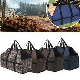 210D Oxford Cloth Firewood Carrier Bag Holzhalter Aufbewahrungstasche Tote Organizer Outdoor Camping Picknick BBQ