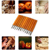 12Pcs Wood Carving Tool Hand-Made Wooden Cutter for Home Manual Wood Wood Lettering Tools Set