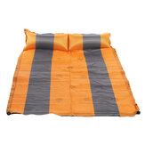 Одинарный / двойной самонадувающийся матрас надувная кровать Кемпинг Коврик для походов На открытом воздухе Спальная палатка для путешес