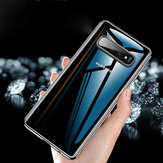 Cafele Protective Case For Samsung Galaxy S10 6.1 Inch Clear Plating Anti Fingerprint Back Cover