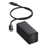 [GaN Tech] Baseus GaN2 Pro 65 W 3-poorts USB PD-oplader Dual 65 W USB-C PD3.0 QC3.0 FCP SCP Snel opladen Wandladeradapter US-stekker met 100 W 5A USB-C naar USB-C-kabel