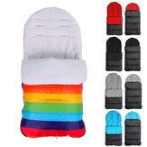 Baby Stroller Cushion Waterproof Footmuff Pushchair Pram Seat Cushion Warmer Sleeping Bag