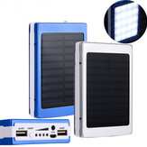 Bakeey 5x18650 Dual USB Solar Energy Camping Flashlight 20000mAh Battery Case Power Bank Box