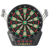 18 Inch Professional Electronic Dart Board Bullseye 4 LED Display 243 Play Methods